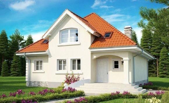 Дом из газоблока 11х12 два этажа 264м2