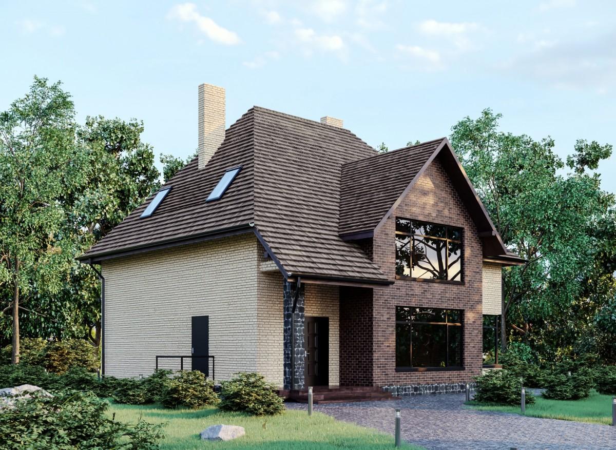 Дом из керамзитобетона Рысь
