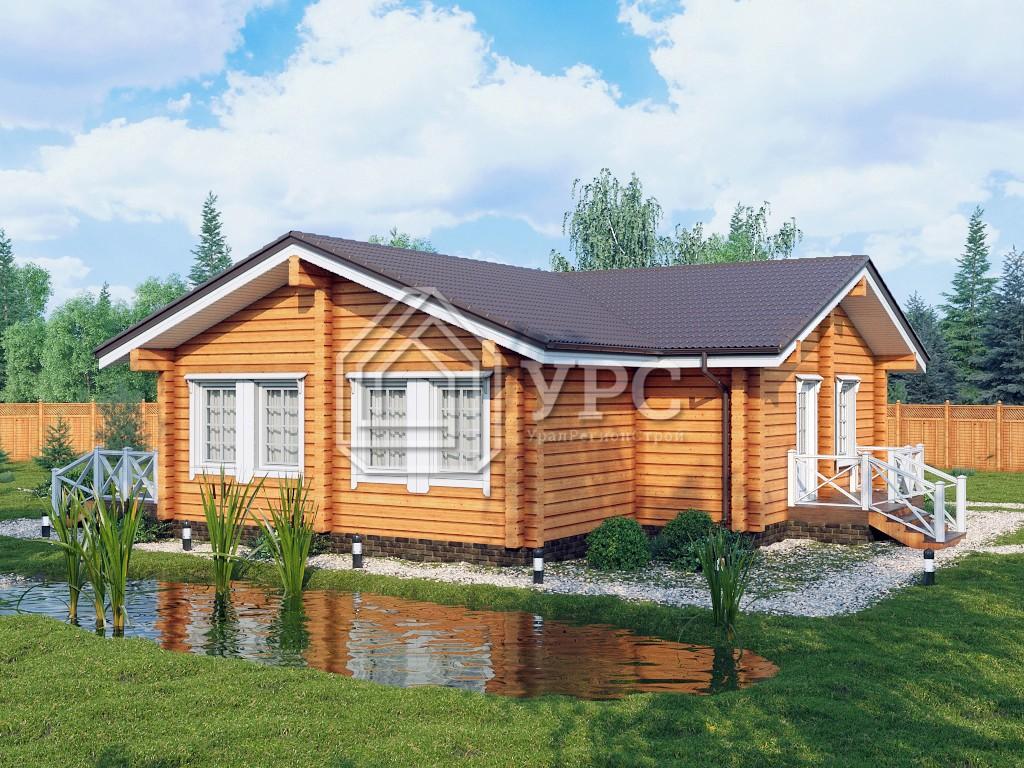 Дом из профилированного бруса ДС-116