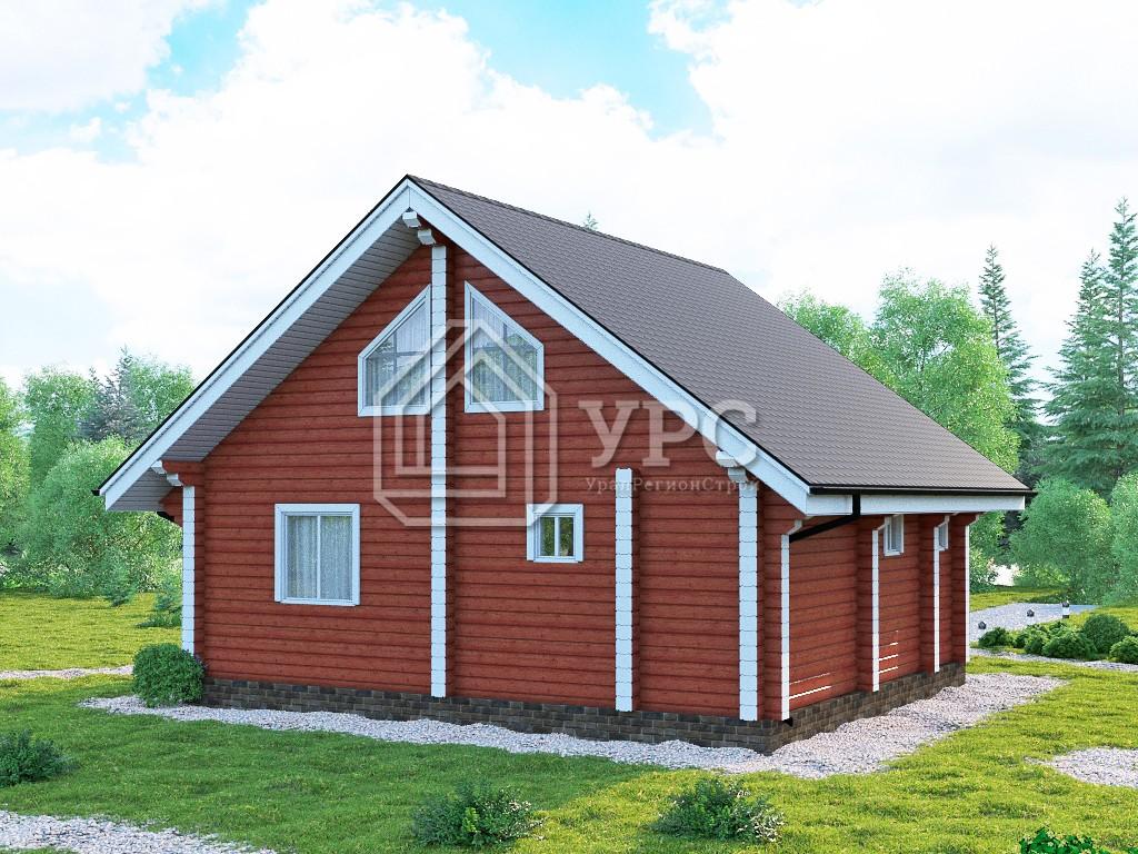 Дом из профилированного бруса ДС-106