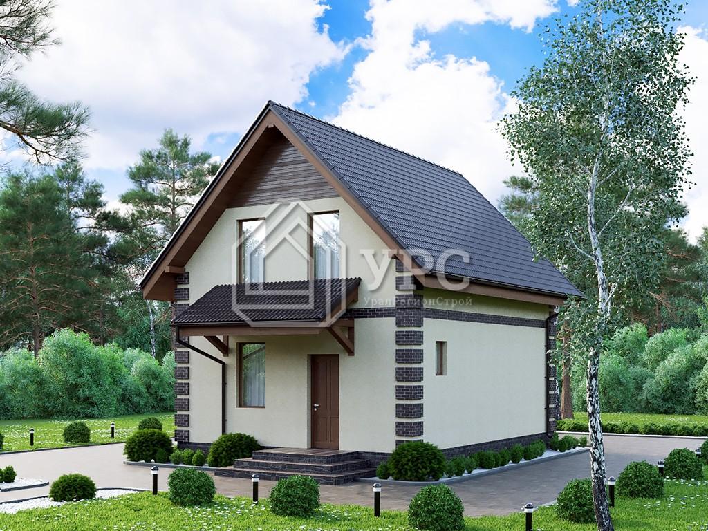 Дом из газоблока К-266