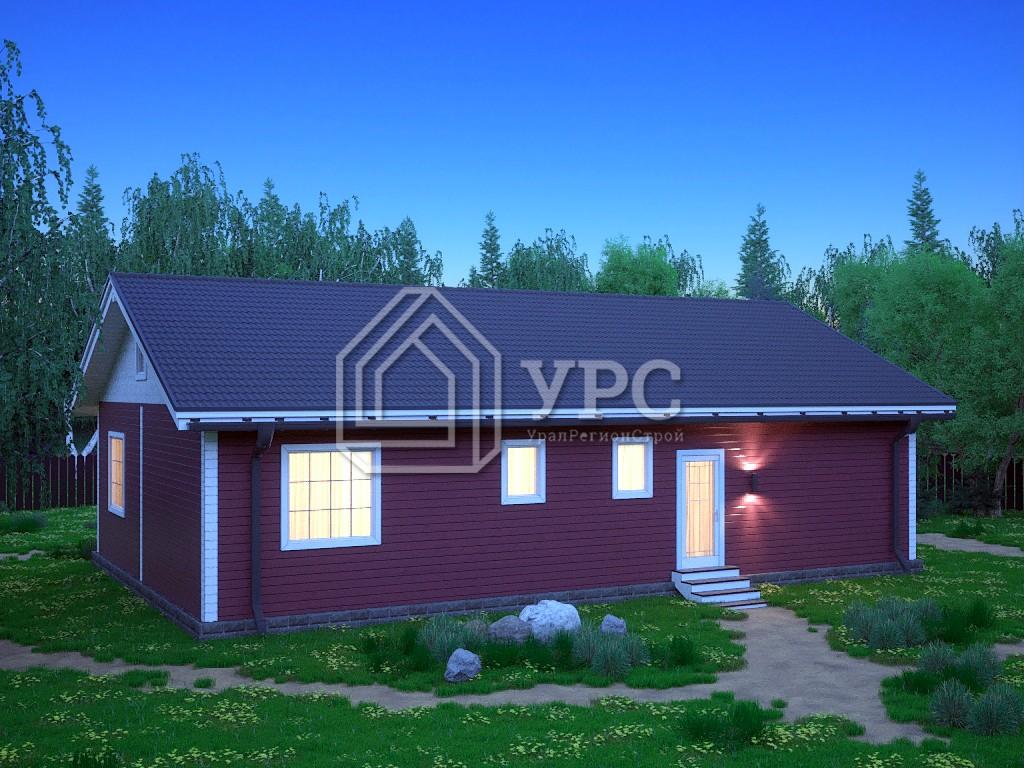Дом из профилированного бруса ДС-076