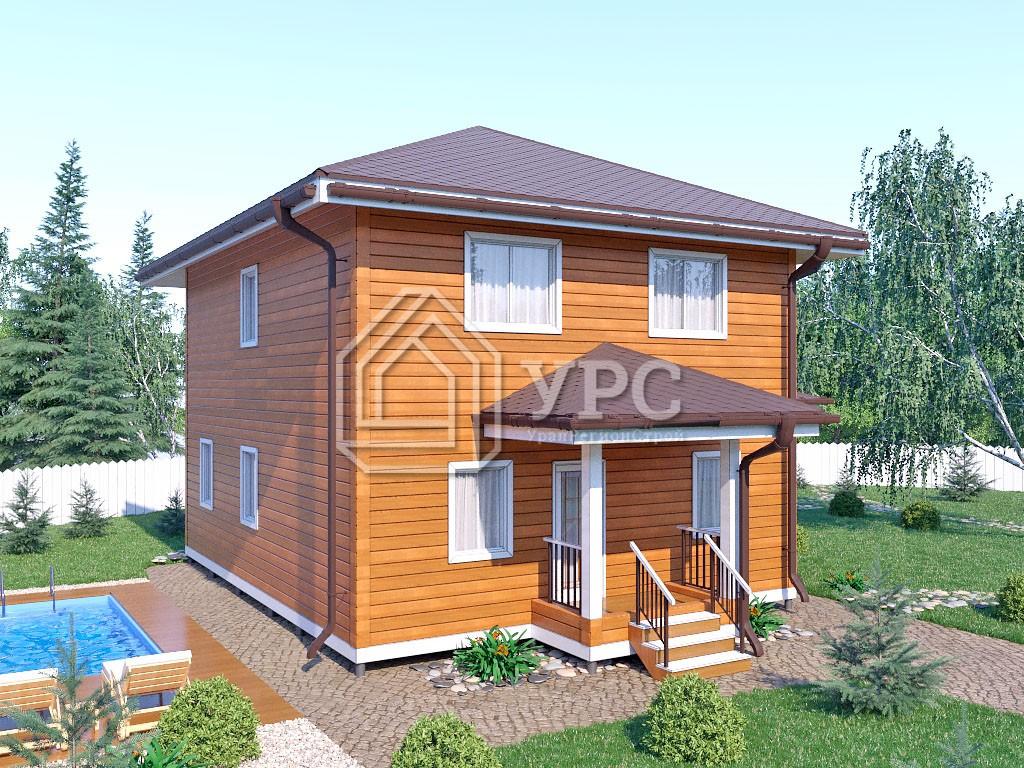 Дом из профилированного бруса ДС-069