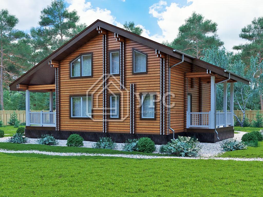 Дом из профилированного бруса ДС-147