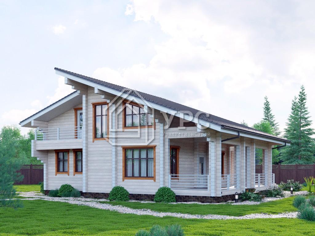 Дом из профилированного бруса ДС-122