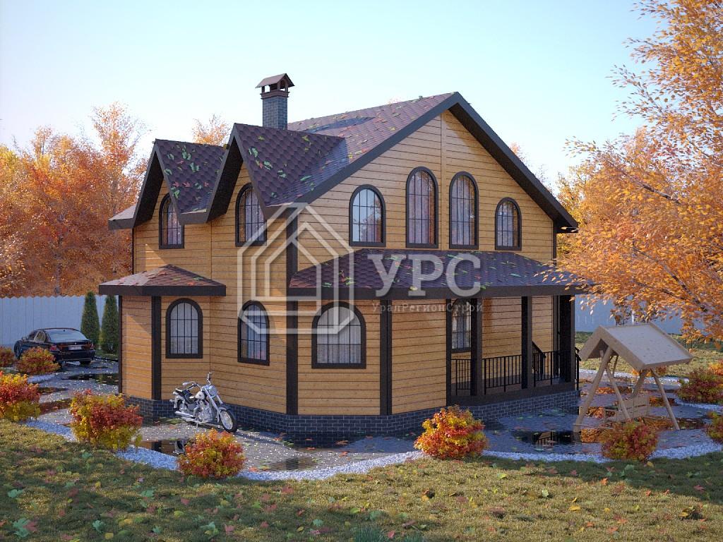 Дом из профилированного бруса ДС-074