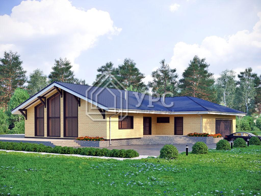 Дом из керамзитобетона К-270