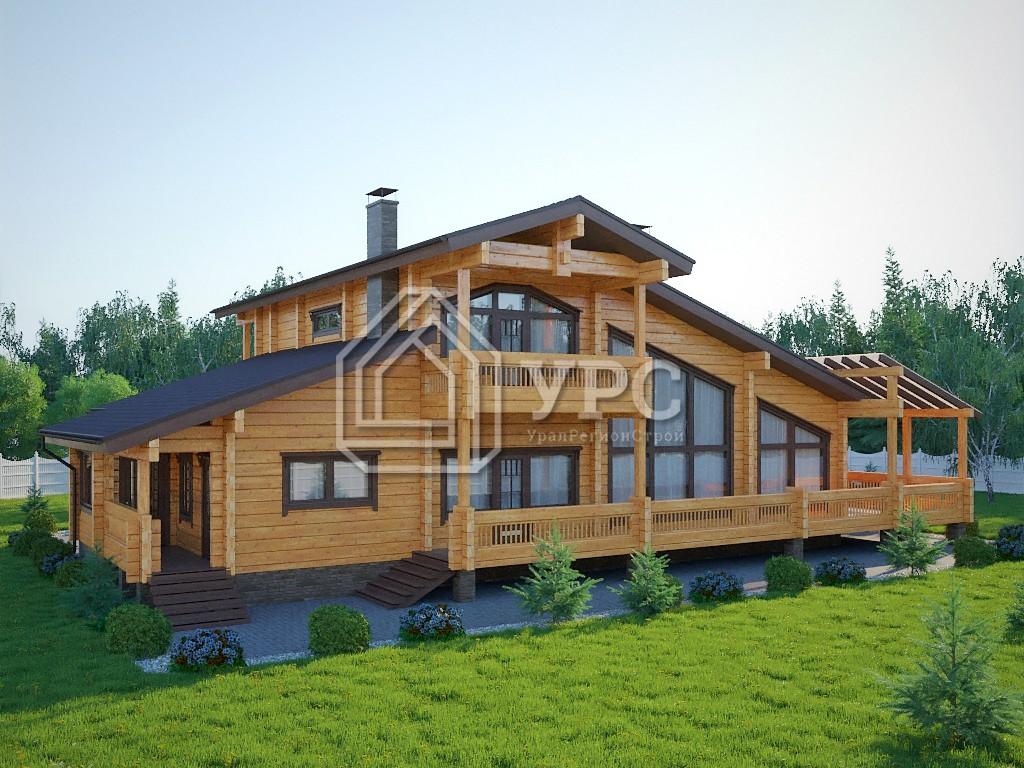 Дом из профилированного бруса ДС-094