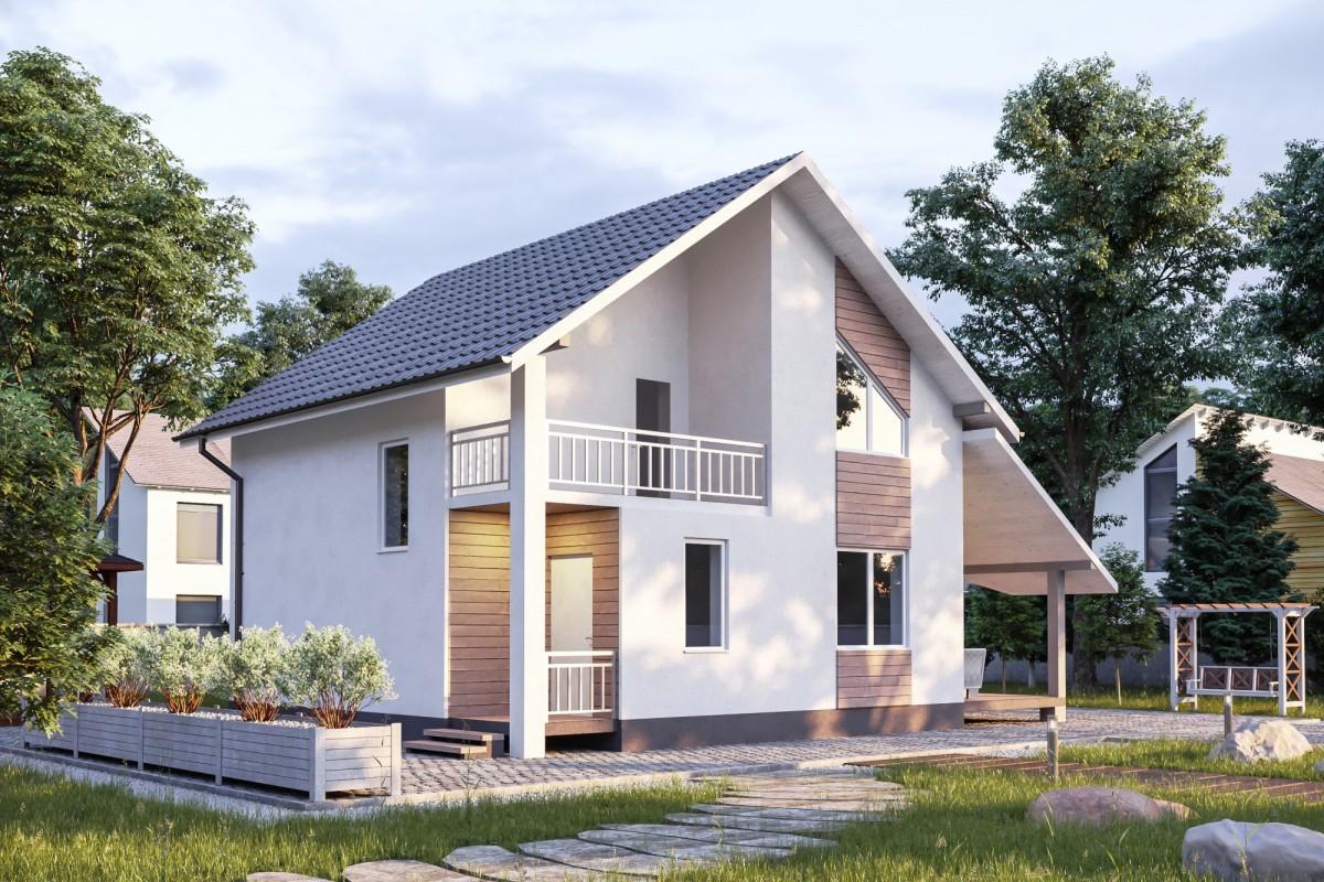 Дом из газоблока Заря