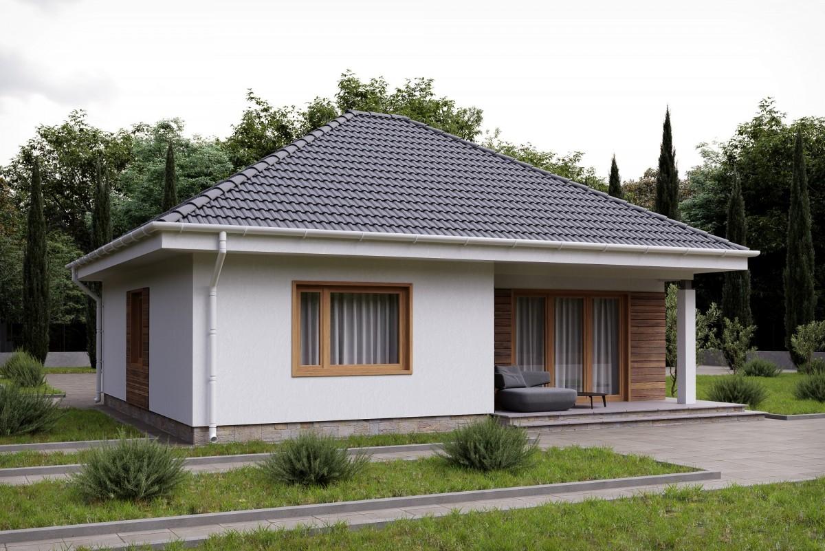 Дом из газоблока Далия