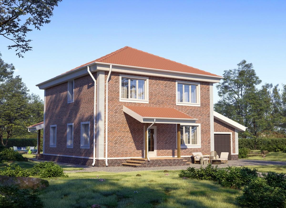 Дом из газоблока Лаграйн