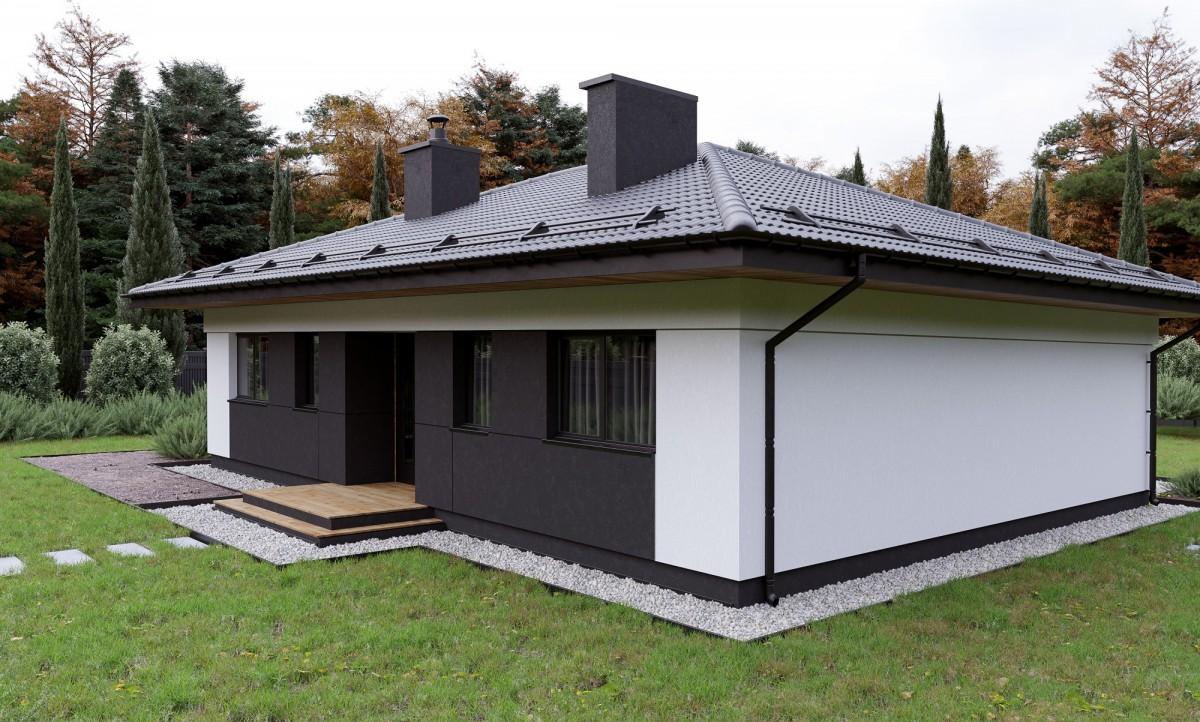 Дом из газоблока Сильванер